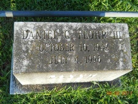 FLOHR, DANIEL GEORGE, III - Warren County, Mississippi   DANIEL GEORGE, III FLOHR - Mississippi Gravestone Photos