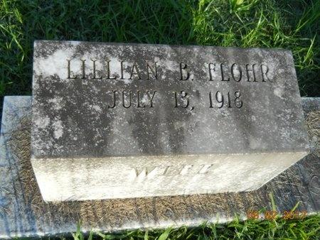 FLOHR, LILLIAN B - Warren County, Mississippi | LILLIAN B FLOHR - Mississippi Gravestone Photos