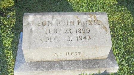 HOXIE, LEON QUIN - Warren County, Mississippi | LEON QUIN HOXIE - Mississippi Gravestone Photos