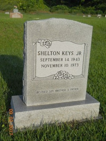 KEYS, SHELTON, JR - Warren County, Mississippi   SHELTON, JR KEYS - Mississippi Gravestone Photos