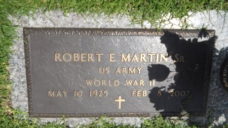 MARTIN (VETERAN WWII), ROBERT E, SR (NEW) - Warren County, Mississippi | ROBERT E, SR (NEW) MARTIN (VETERAN WWII) - Mississippi Gravestone Photos