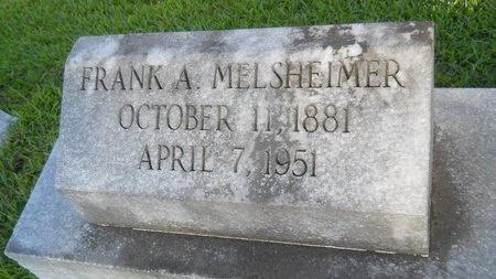 MELSHEIMER, FRANK A - Warren County, Mississippi   FRANK A MELSHEIMER - Mississippi Gravestone Photos