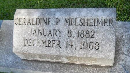 MELSHEIMER, GERALDINE P - Warren County, Mississippi | GERALDINE P MELSHEIMER - Mississippi Gravestone Photos