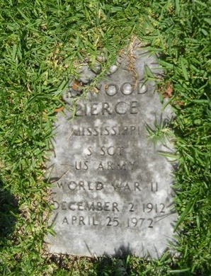 PIERCE (VETERAN WWII), SHERWOOD (NEW) - Warren County, Mississippi | SHERWOOD (NEW) PIERCE (VETERAN WWII) - Mississippi Gravestone Photos