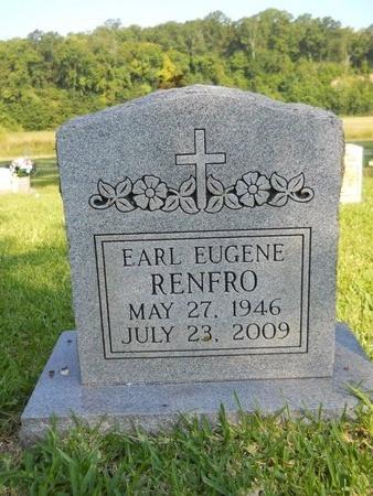 RENFRO, EARL EUGENE - Warren County, Mississippi | EARL EUGENE RENFRO - Mississippi Gravestone Photos