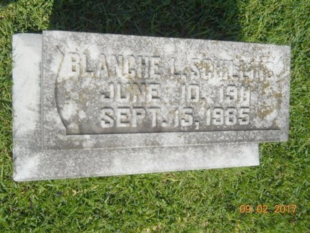 SCHILLING, BLANCHE L - Warren County, Mississippi | BLANCHE L SCHILLING - Mississippi Gravestone Photos