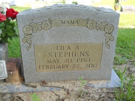 STEPHENS, LILA A - Warren County, Mississippi | LILA A STEPHENS - Mississippi Gravestone Photos