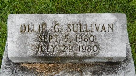 SULLIVAN, OLLIE G - Warren County, Mississippi | OLLIE G SULLIVAN - Mississippi Gravestone Photos