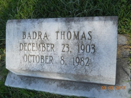 THOMAS, BADRA - Warren County, Mississippi | BADRA THOMAS - Mississippi Gravestone Photos