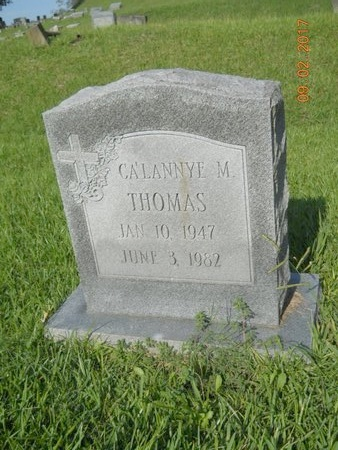 THOMAS, CA'LANNYE M - Warren County, Mississippi | CA'LANNYE M THOMAS - Mississippi Gravestone Photos