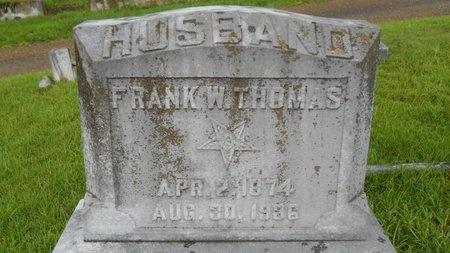 THOMAS, FRANK W - Warren County, Mississippi | FRANK W THOMAS - Mississippi Gravestone Photos