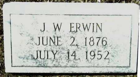 ERWIN, J W - Washington County, Mississippi | J W ERWIN - Mississippi Gravestone Photos