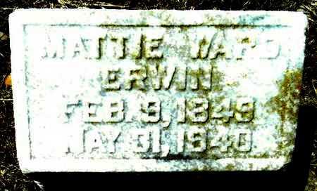 ERWIN, MATTIE - Washington County, Mississippi   MATTIE ERWIN - Mississippi Gravestone Photos