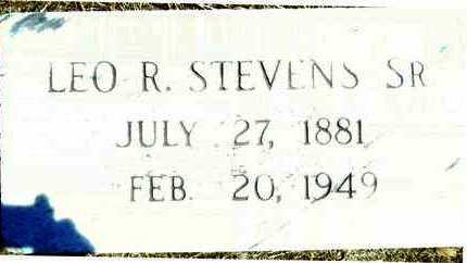 STEVENS, SR, LEO R - Washington County, Mississippi | LEO R STEVENS, SR - Mississippi Gravestone Photos