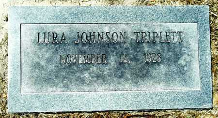 JOHNSON TRIPLETT, LURA - Washington County, Mississippi | LURA JOHNSON TRIPLETT - Mississippi Gravestone Photos