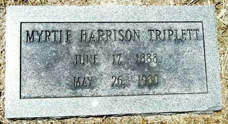 HARRISON TRIPLETT, MYRTIE - Washington County, Mississippi | MYRTIE HARRISON TRIPLETT - Mississippi Gravestone Photos