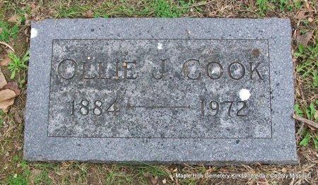 COOK, OLLIE JANE - Adair County, Missouri | OLLIE JANE COOK - Missouri Gravestone Photos