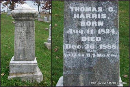 HARRIS, THOMAS C (VETERAN UNION) - Adair County, Missouri   THOMAS C (VETERAN UNION) HARRIS - Missouri Gravestone Photos