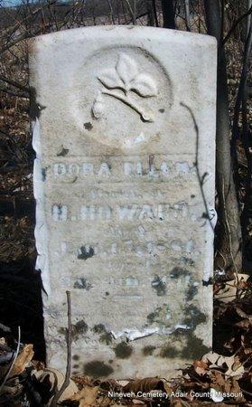 HOWARD, DORA ELLEN - Adair County, Missouri | DORA ELLEN HOWARD - Missouri Gravestone Photos