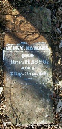 HOWARD, HENRY - Adair County, Missouri   HENRY HOWARD - Missouri Gravestone Photos
