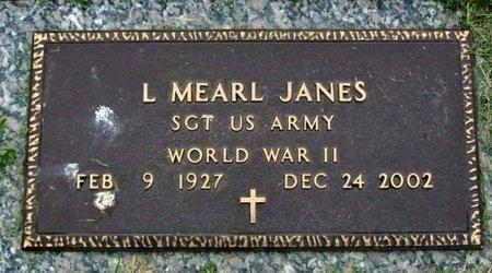 JANES, LEONARD MEARL (VETERAN WWII) - Adair County, Missouri | LEONARD MEARL (VETERAN WWII) JANES - Missouri Gravestone Photos