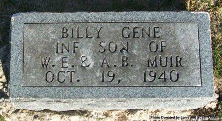 MUIR, BILLY GENE  - Adair County, Missouri | BILLY GENE  MUIR - Missouri Gravestone Photos