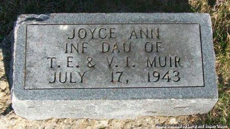 MUIR, JOYCE ANN - Adair County, Missouri | JOYCE ANN MUIR - Missouri Gravestone Photos