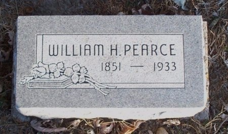 PEARCE, WILLIAM HENRY - Adair County, Missouri | WILLIAM HENRY PEARCE - Missouri Gravestone Photos