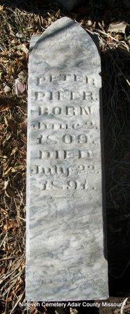 PIFER, PETER - Adair County, Missouri   PETER PIFER - Missouri Gravestone Photos