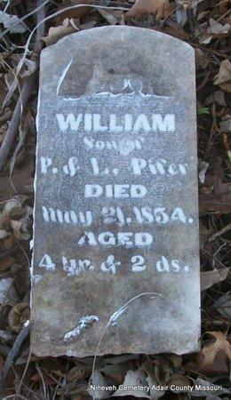 PIFER, WILLIAM - Adair County, Missouri   WILLIAM PIFER - Missouri Gravestone Photos