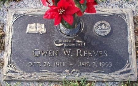 REEVES, OWEN WOOD SR. - Adair County, Missouri   OWEN WOOD SR. REEVES - Missouri Gravestone Photos
