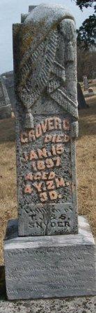 SNYDER, GROVER C. - Adair County, Missouri   GROVER C. SNYDER - Missouri Gravestone Photos