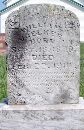 VOELKER, WILLIAM - Adair County, Missouri | WILLIAM VOELKER - Missouri Gravestone Photos