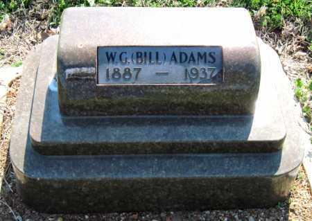 "ADAMS, WILLIAM G ""BILL"" - Barry County, Missouri | WILLIAM G ""BILL"" ADAMS - Missouri Gravestone Photos"
