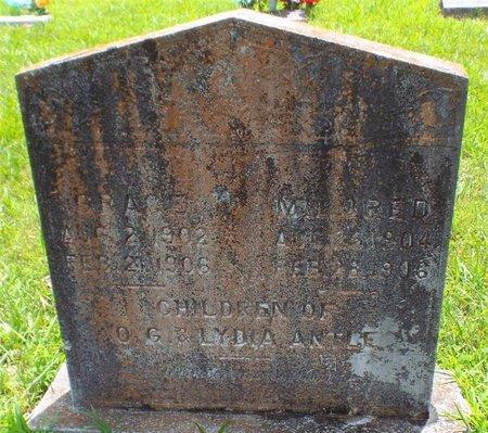 ANTLE, MILDRED - Barry County, Missouri   MILDRED ANTLE - Missouri Gravestone Photos