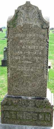 BURTON ATKISSON, JESSIE - Barry County, Missouri | JESSIE BURTON ATKISSON - Missouri Gravestone Photos