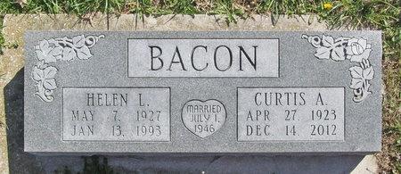 BACON, HELEN I - Barry County, Missouri | HELEN I BACON - Missouri Gravestone Photos