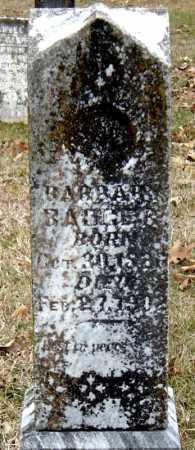 BADGER, BARBARA - Barry County, Missouri | BARBARA BADGER - Missouri Gravestone Photos