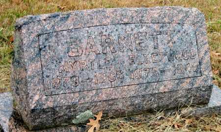 BARNETT, FLEETWOOD - Barry County, Missouri | FLEETWOOD BARNETT - Missouri Gravestone Photos