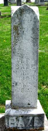 BAZE, ABEDNAGO PETER - Barry County, Missouri | ABEDNAGO PETER BAZE - Missouri Gravestone Photos