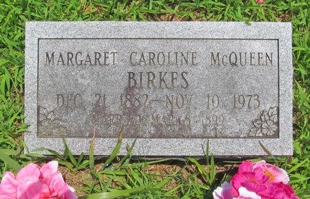 "BIRKES, MARGARET CAROLINE ""MAGGIE"" - Barry County, Missouri | MARGARET CAROLINE ""MAGGIE"" BIRKES - Missouri Gravestone Photos"