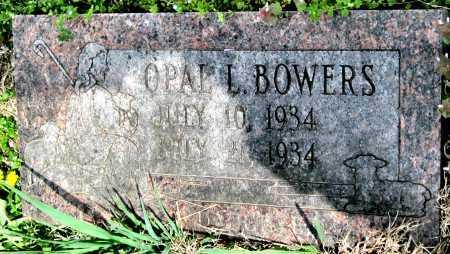 BOWERS, OPAL L - Barry County, Missouri | OPAL L BOWERS - Missouri Gravestone Photos