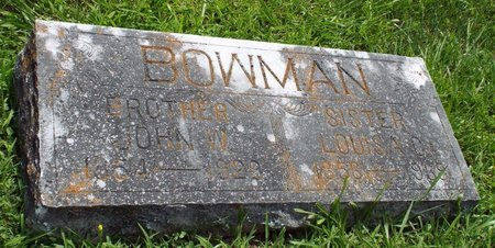 BOWMAN, JOHN WESLEY - Barry County, Missouri | JOHN WESLEY BOWMAN - Missouri Gravestone Photos