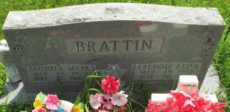BRATTIN, JAUNITA MYRL - Barry County, Missouri | JAUNITA MYRL BRATTIN - Missouri Gravestone Photos