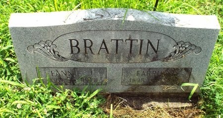 BRATTIN, FANNIE JANE - Barry County, Missouri | FANNIE JANE BRATTIN - Missouri Gravestone Photos