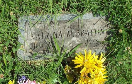 BRATTIN, KATRINA M - Barry County, Missouri | KATRINA M BRATTIN - Missouri Gravestone Photos