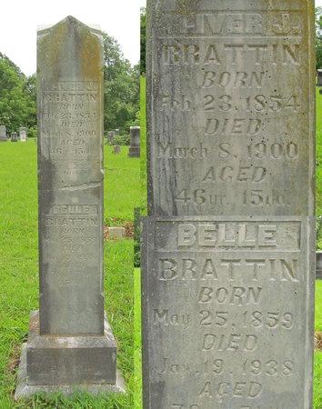 BRATTIN, BELLE - Barry County, Missouri | BELLE BRATTIN - Missouri Gravestone Photos