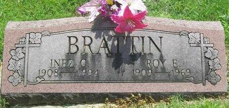 BRATTIN, INEZ C. - Barry County, Missouri   INEZ C. BRATTIN - Missouri Gravestone Photos