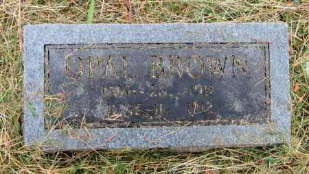 BROWN, OPAL - Barry County, Missouri | OPAL BROWN - Missouri Gravestone Photos