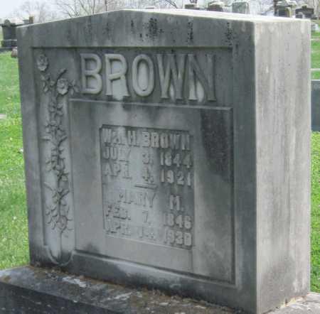 BROWN, WILLIAM H - Barry County, Missouri | WILLIAM H BROWN - Missouri Gravestone Photos